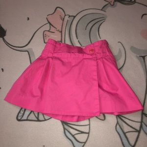 Lilly Pulitzer Pink Skirt Skort Girls Size 5T